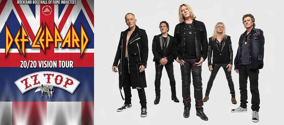 Def Leppard and ZZ Top at Veterans United Home Loans Amphitheater