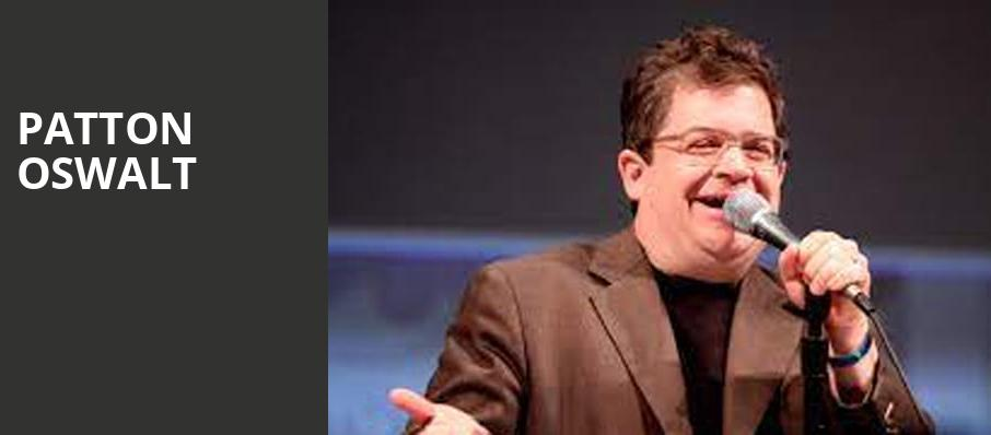 Patton Oswalt, Sandler Center For The Performing Arts, Virginia Beach