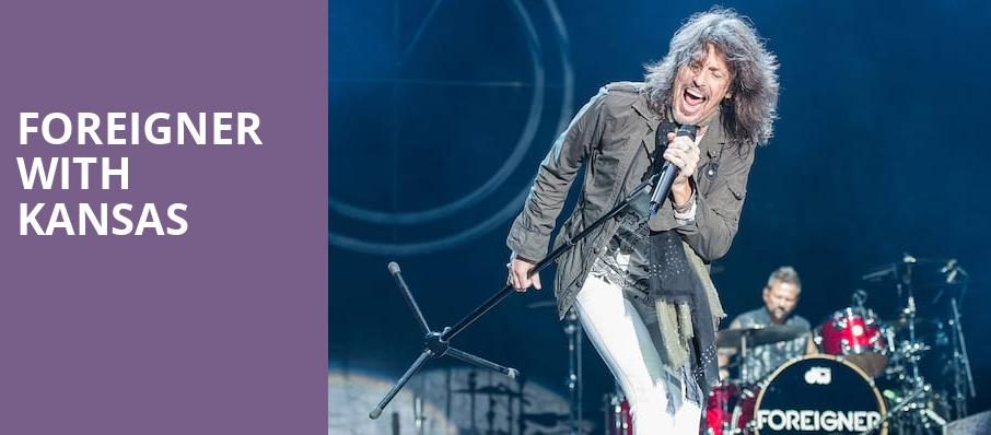 Foreigner with Kansas, Veterans United Home Loans Amphitheater, Virginia Beach