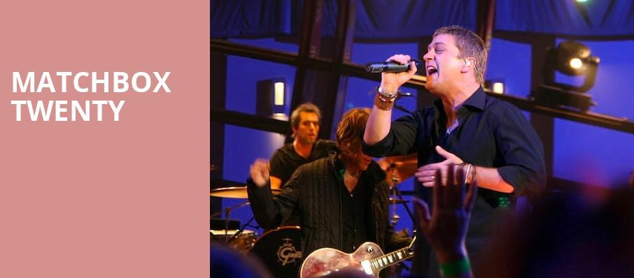 Matchbox Twenty, Veterans United Home Loans Amphitheater, Virginia Beach